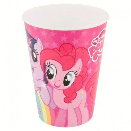 Dívčí plastový kelímek My Little Pony 260 ml růžový