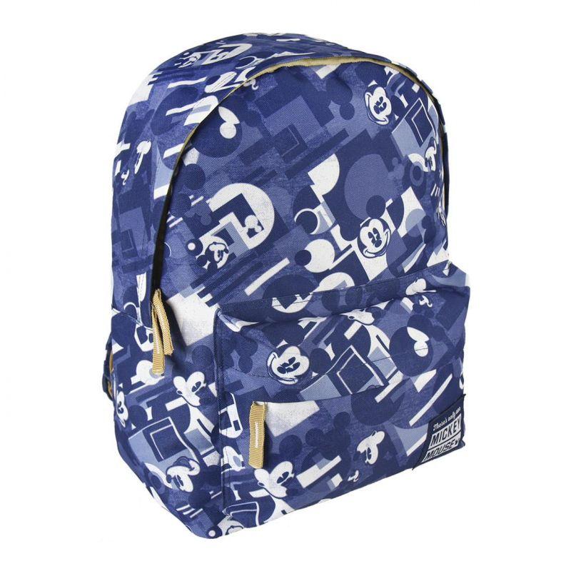 Dětský batoh s Myšákem Mickey / Mickey Mouse modrý 30 x 41 x 14 cm