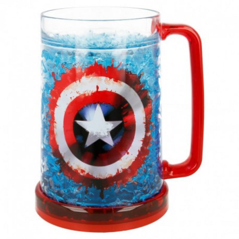 Chladící korbel Captain America / Kapitán Amerika / 473 ml