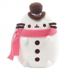 Figurka Kočička Pusheen  Sněhulák / 17 cm