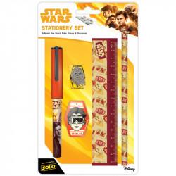 Školní sada Hvězdné války / Star Wars tužka / kuličkové pero / pravítko / ořezávátko / guma / vecizfilmu