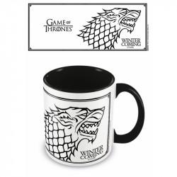 Hrnek Hra o Trůny / Game Of Thrones / Winter Is Coming / vecizfilmu