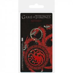 Gumový přívěšek na klíče / batoh Hra o trůny / Game Of Thrones / Targaryen / vecizfilmu
