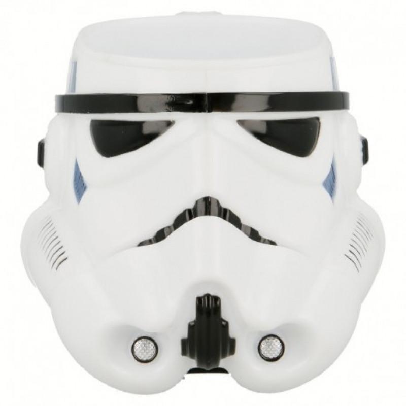 Plastový tvarovaný 3D hrnek Stormtrooper / Star Wars / Hvězdné války 315 ml