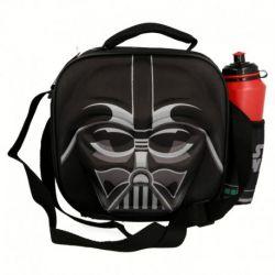 3D taška na svačinu / lunch box a láhev na vodu Star Wars / Darth Vader