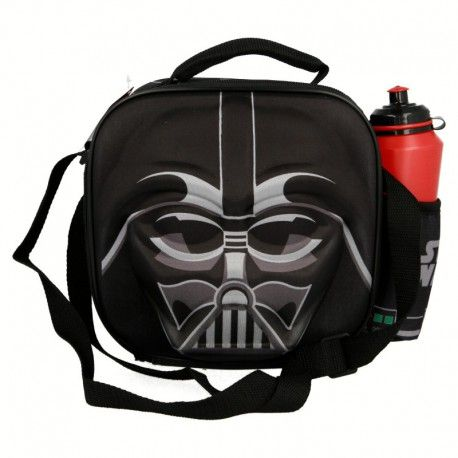 3D taška na svačinu / lunch box a láhev na vodu Star Wars / Darth Vader