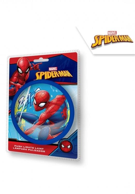Chlapecká dotyková lampička s Pavoučím mužem Spidermanem 14 cm