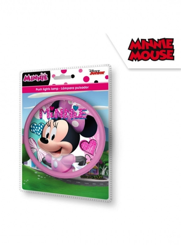 Dívčí dotyková lampička s Myškou Minnie / Minnie Mouse 14 cm