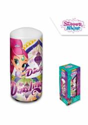 Plastová noční lampička pro holky Shimmer and Shine / Třpyt a Lesk 7 x 13 cm  / vecizfilmu