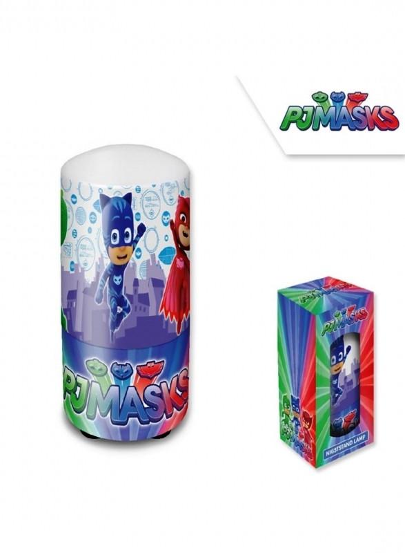 Dětská noční lampička PJ Masks / Pyžamasky / Greg Amaya Connor 7 x 13 cm