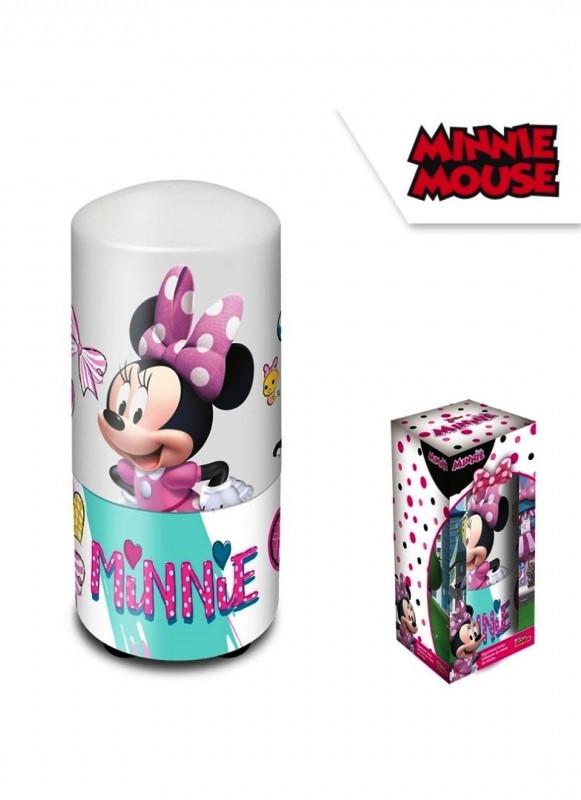 Plastová noční lampička pro holky Myška Minnie / Minnie Mouse 7 x 13 cm