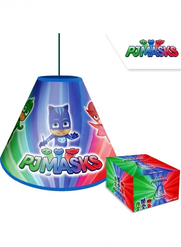 Dětské stropní světlo / lustr PJ Masks / Pyžamasky / Greg Amaya Connor 34 x 22 cm