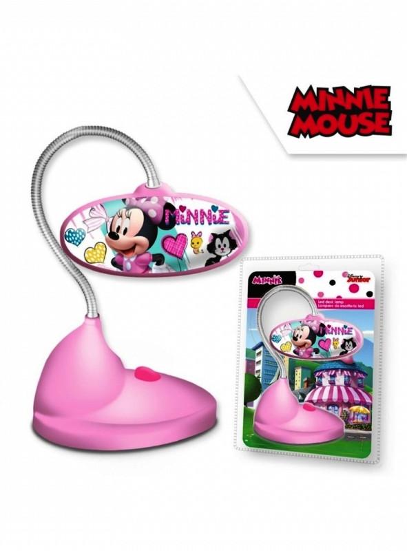 Stolní ohebná LED lampička pro holky s Myškou Minnie / Minnie Mouse 13 x 18 cm