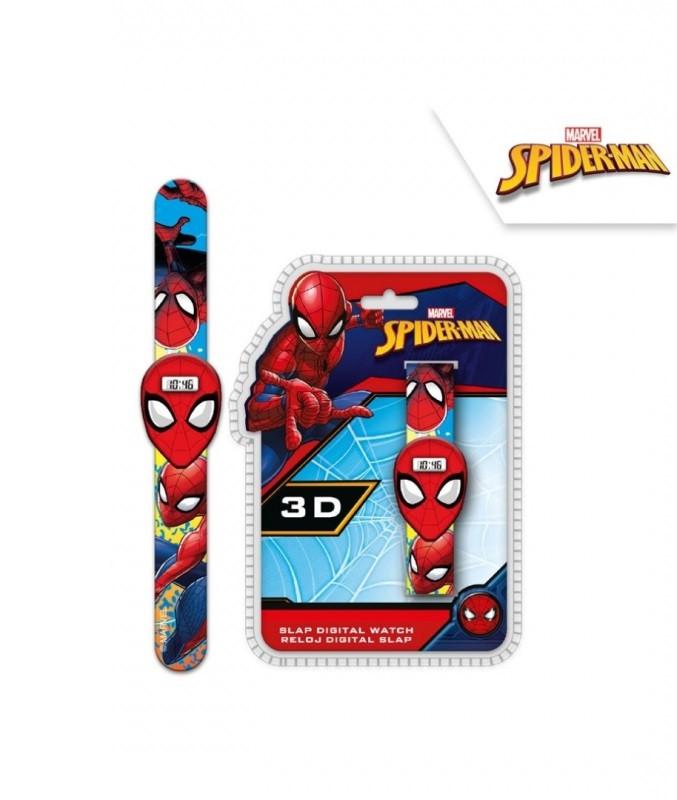 Dětské digitální 3D hodinky Spiderman / veci z filmu