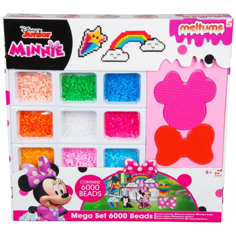 Zažehlovací korálky Minnie Mouse / 6000 korálků