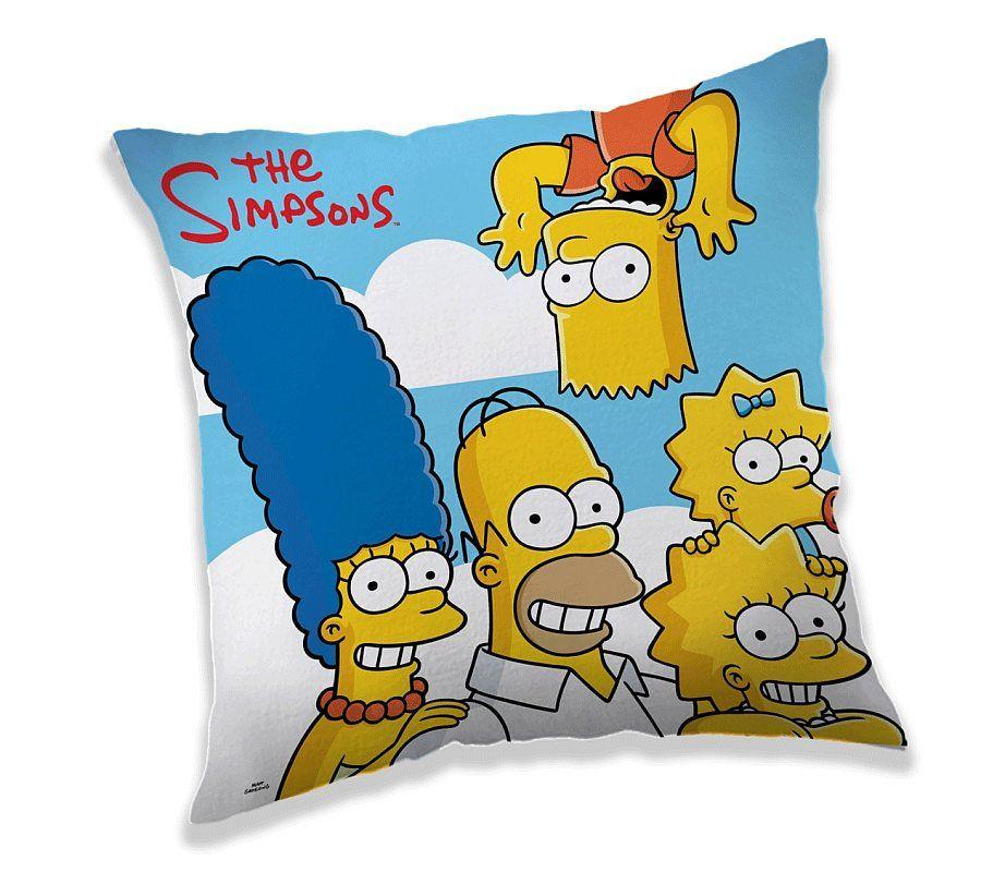 Dětský polštář Simpsonovi / Family / 40 x 40 cm