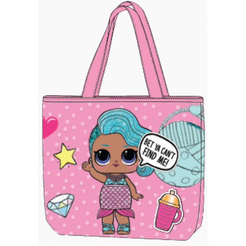 LOL Surprise dívčí nákupní taška   31 x 27 a2cfa281f2
