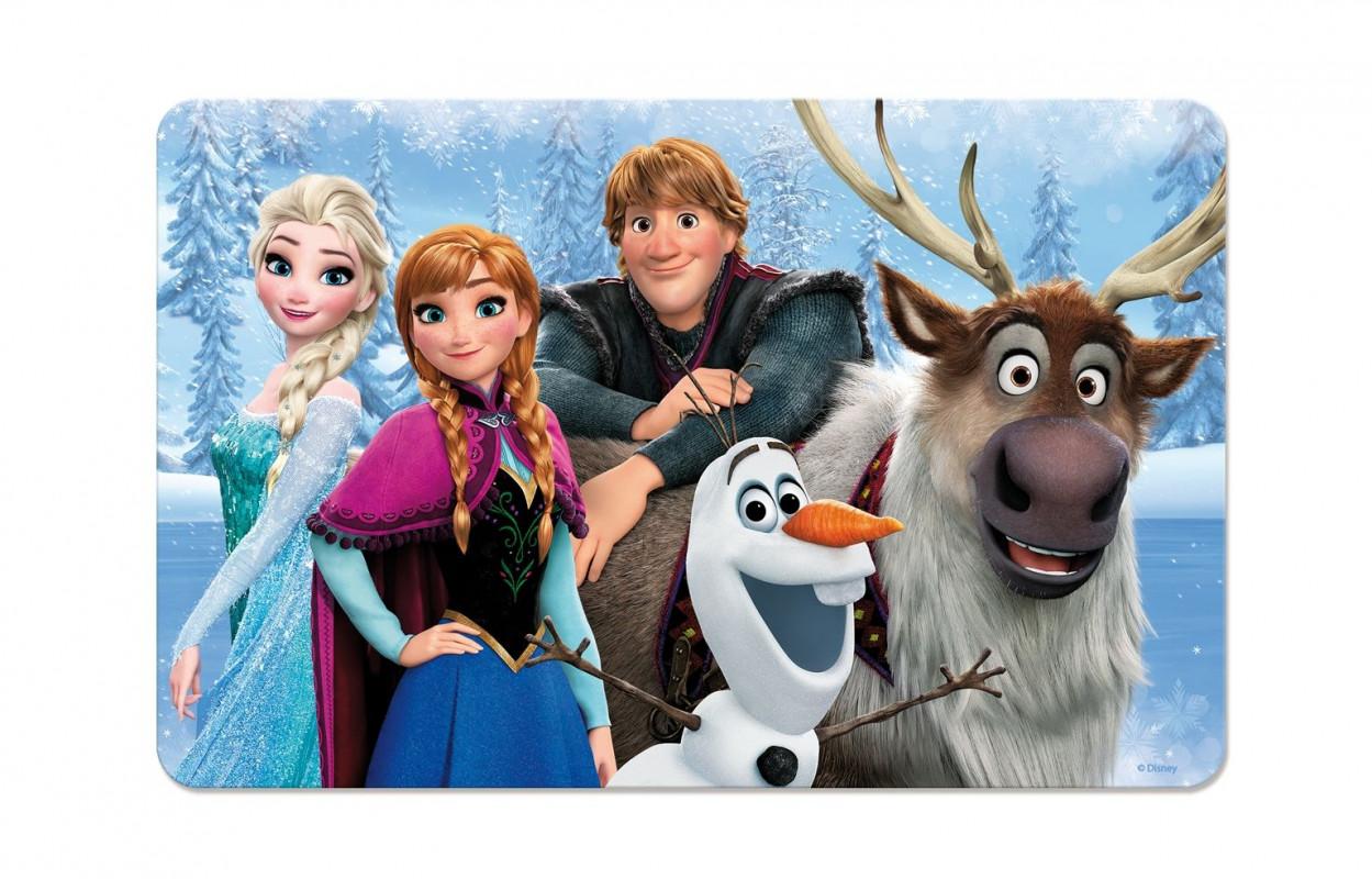3D jídelní podložka Frozen / Ledové Království Team 42 x 29 cm