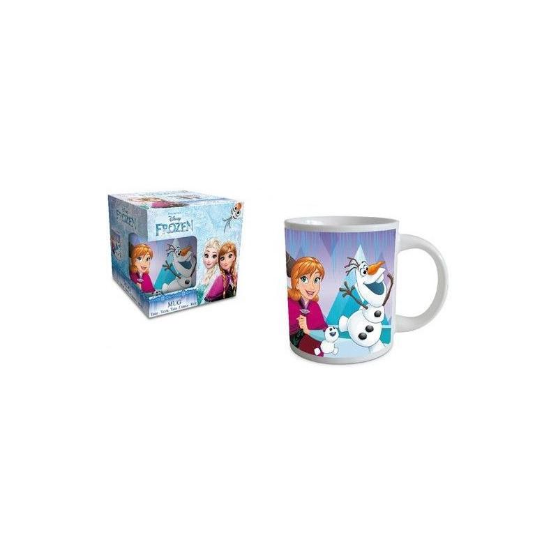 Dívčí keramický hrnek Frozen / Ledové Království  / Elsa / Kristoff / Anna a Olaf 237 ml