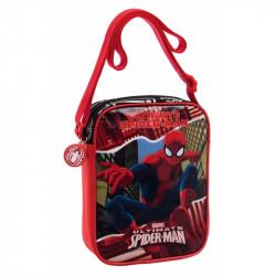 Taška na jedno rameno Spiderman / 15 x 20 x 6 cm