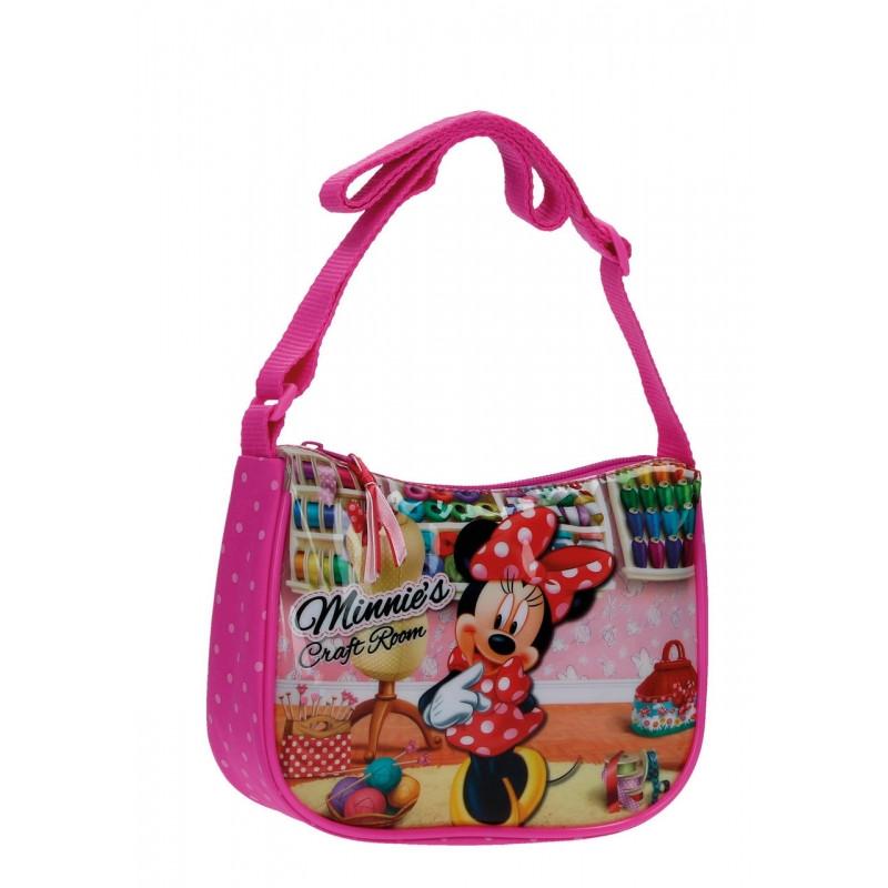 Dívčí kabelka na jedno rameno Minnie Mouse / 19 x 15 x 7 cm