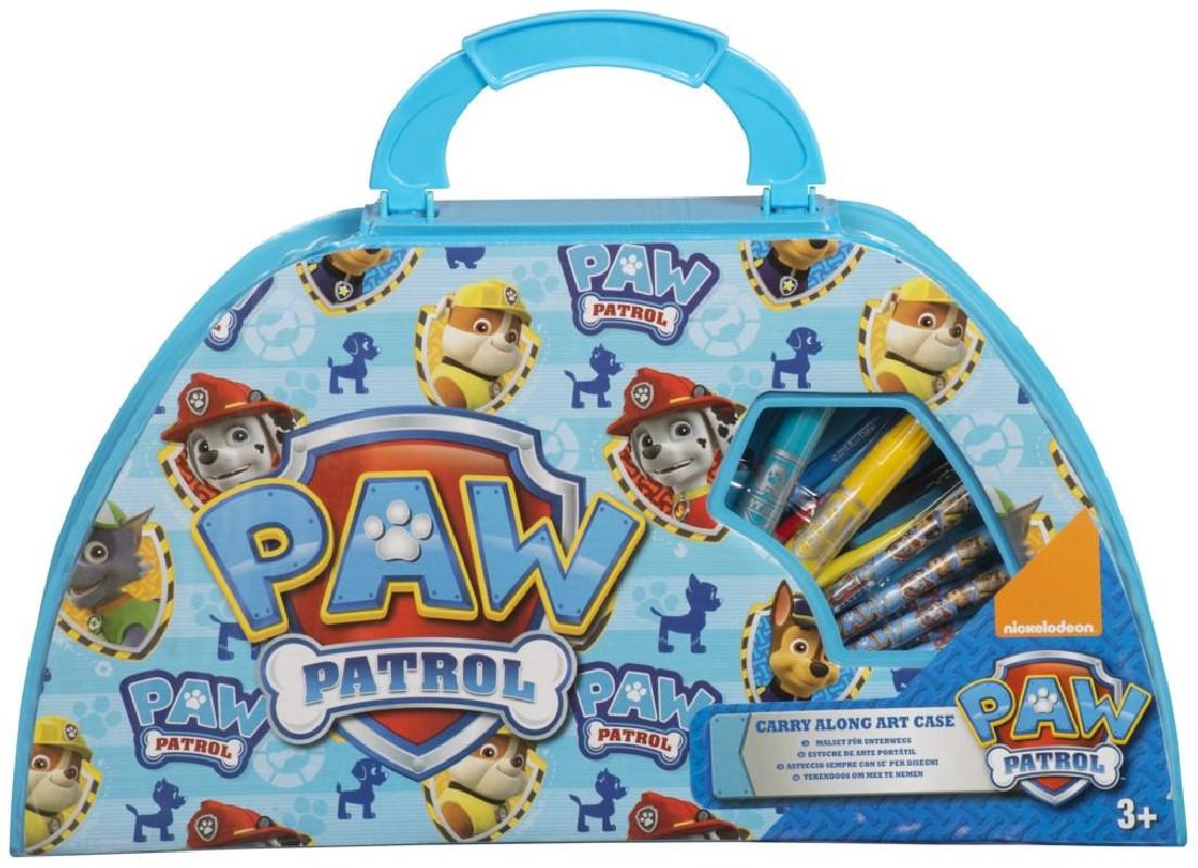 Sada výtvarných potřeb v kufříku Tlapková Patrola / Paw Patrol