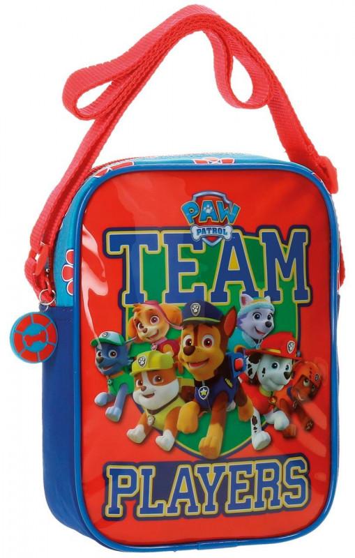 Chlapecká taštička přes rameno Paw Patrol / Tlapková Patrola Team 15 x 20 x 6 cm