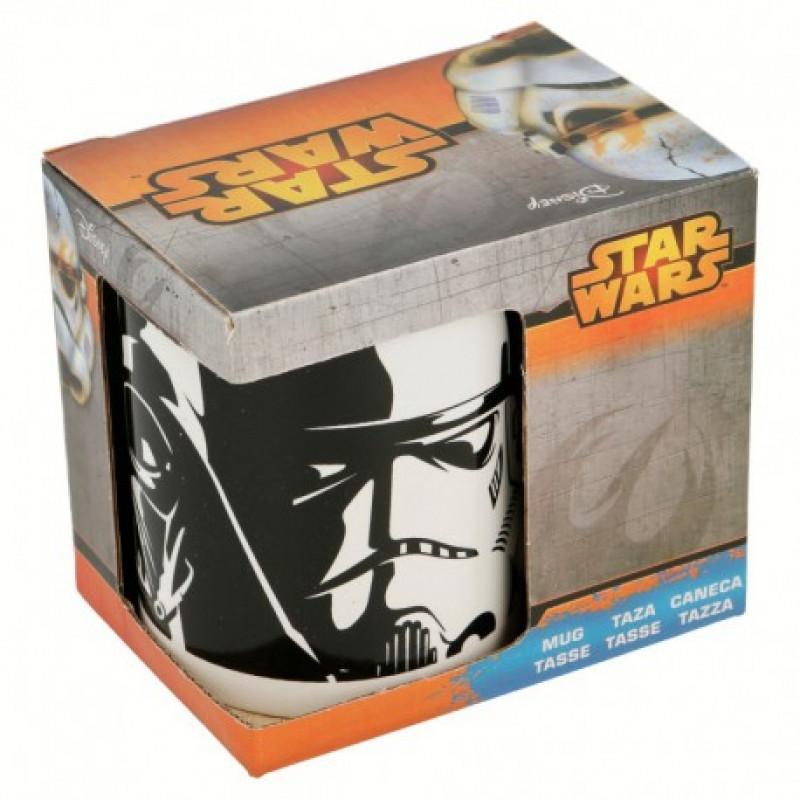 Hrnek Star Wars / Darth Vader a Stormtrooper / veci z filmu