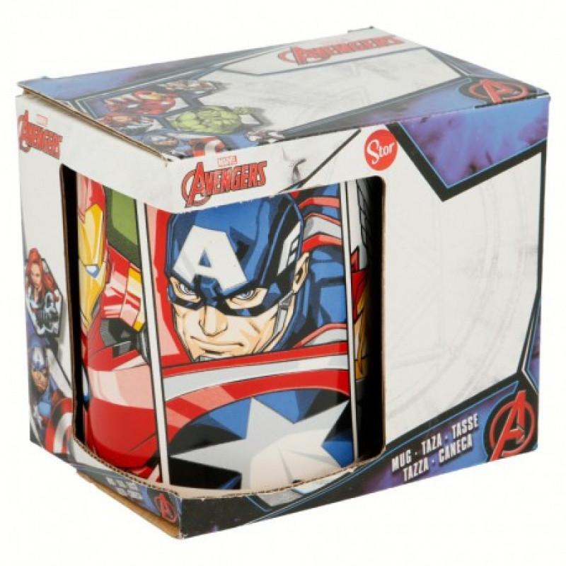 Keramický hrnek Avengers Iron Man / Kapitán Amerika / Thor / 315 ml