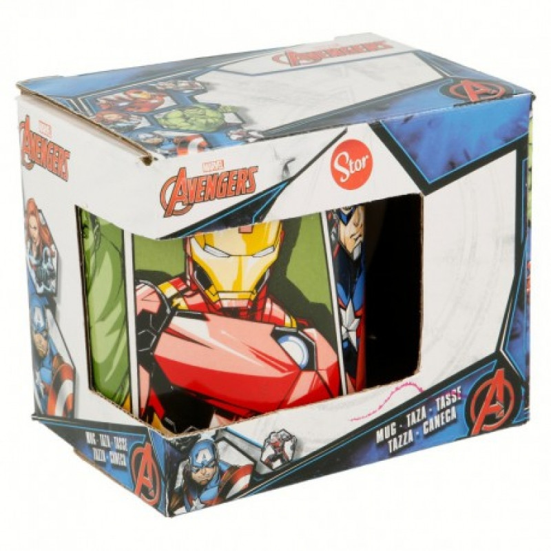 Keramický hrnek Avengers Hulk / Iron man / Kapitán Amerika / 200 ml