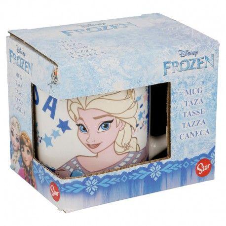 Dívčí keramický hrnek Ledové Království / Frozen Elsa 230 ml bílý