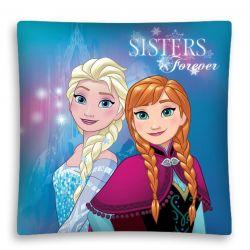 Dívčí povlak na poštář Elsa a Anna / Frozen Sisters Forever 40 x 40 cm / vecizfilmu