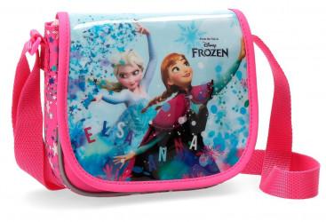 Dívčí příruční taštička / kabelka Elsa a Anna / Frozen / Ledové království 17 x 15 x 4 cm