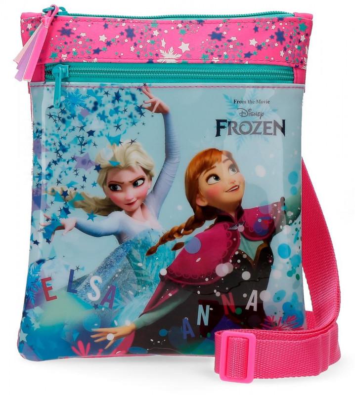 Dívčí taštička přes rameno Elsa a Anna / Frozen / Ledové království 20 x 24 cm