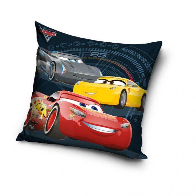 Chlapecký povlak na polštář Blesk McQueen / Cars 40 x 40 cm