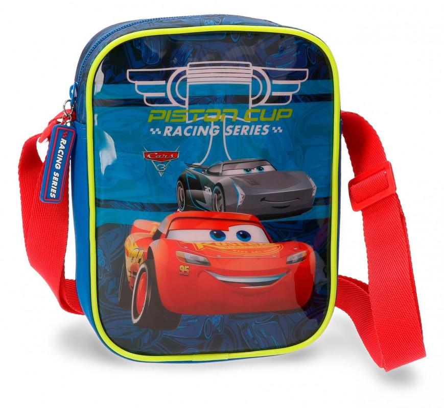 Chlapecká taštička přes rameno Blesk McQueen / Cars 15 x 20 x 6 cm