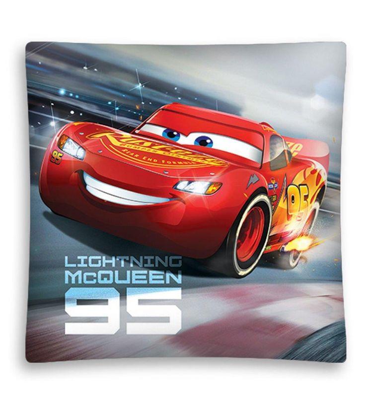 Chlapecký povlak na polštář Lightning McQueen 95 / Cars 40 x 40 cm