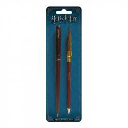Školní set Harry Potter / tužka, propisku / veci z filmu