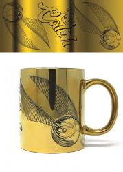 Keramický hrnek Harry Potter / Im A Catch / chromovaný vzhled / 315 ml