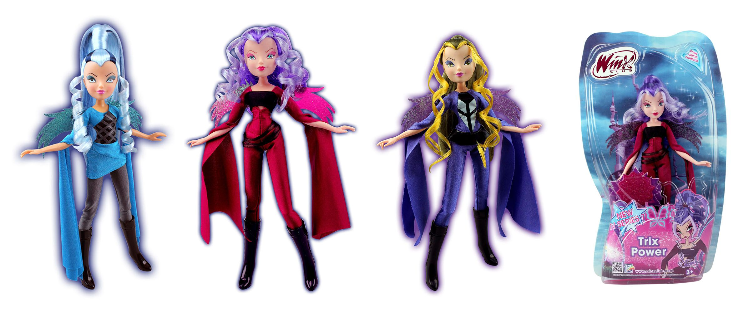 panenka Winx čarodějka/halloween) Trix Power