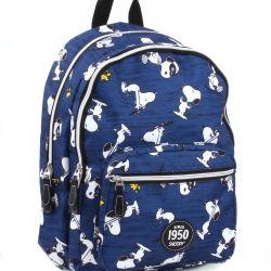 Batoh Snoopy modrý / 43 x 30 x 14 cm