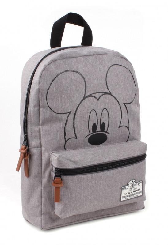 Batoh šedý Mickey Mouse / 34 x 23 x 13 cm / veci z filmu