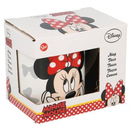 Dívčí keramický hrnek Myška Minnie / Minnie Mouse Mašličky 230 ml