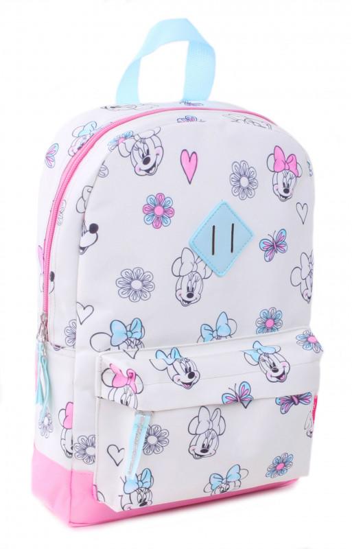 Dívčí batoh v pastelových barvách Myška Minnie / Minnie Mouse 34 x 23 x 13 cm
