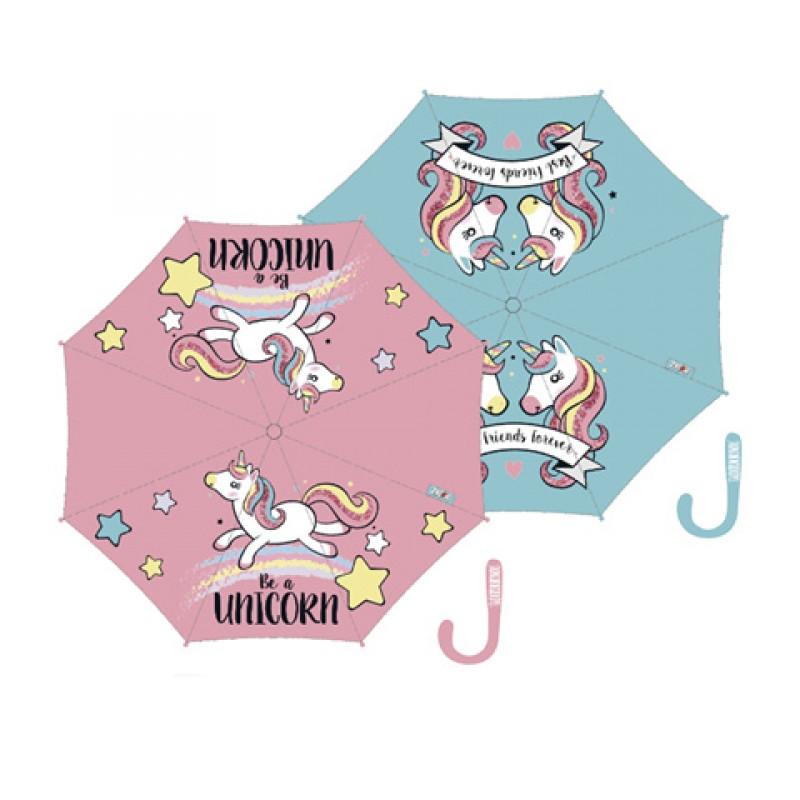 Dívčí automatický deštník Unicorn / Jednorožec / 58 cm