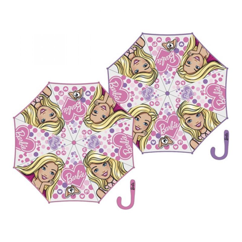 Dívčí manuální deštník Barbie / 46 cm