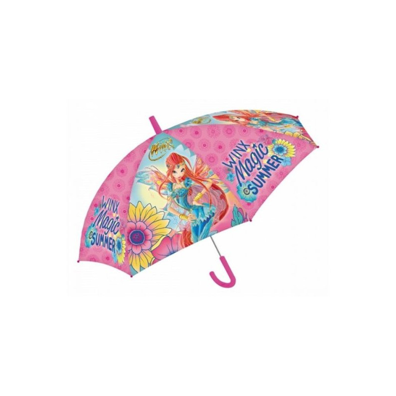 Dívčí manuální deštník Winx