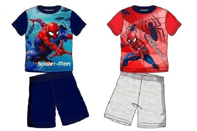 Pyžamo / kraťasy a tričko Spiderman  / vecizfilmu