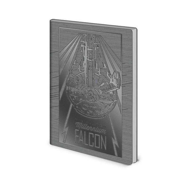 Linkovaný A5 deník / zápisník Star Wars / Falcon