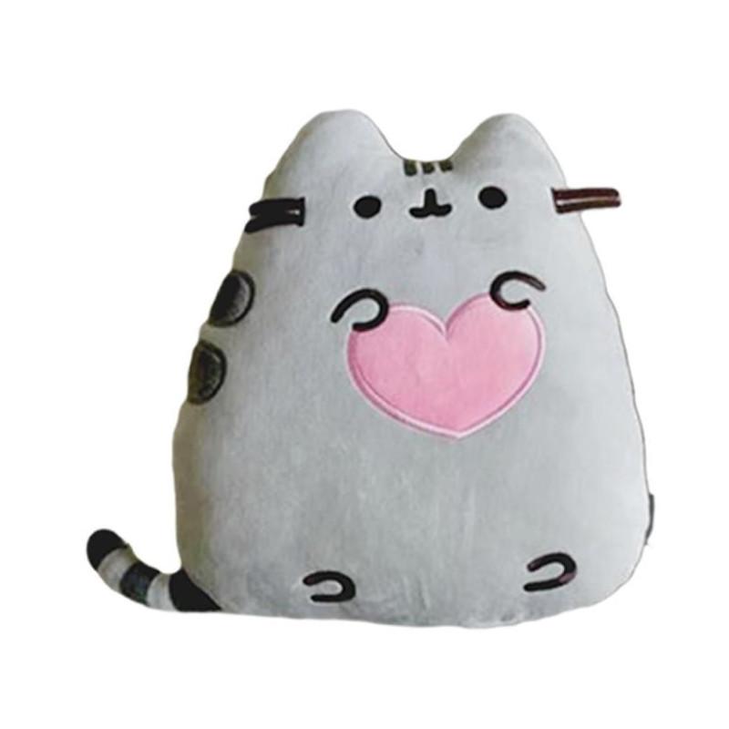 Plyšová kočička Pusheen Love / Srdce 35 x 28 x 8 cm